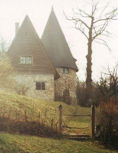 "The beautiful Varjúvár (""Crow Castle"") located in Stana, Salaj, Romania - built in 1910 by Karoly Kos, a Hungarian architect."