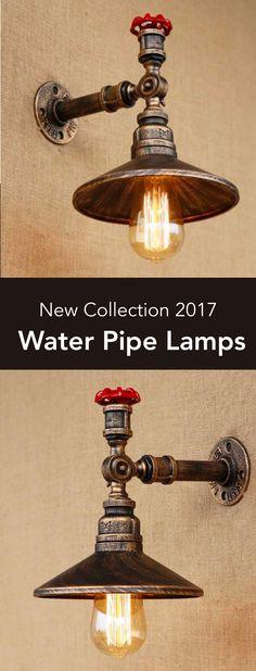 Black Pipe Industrial Lamp Project Idea   Project Difficulty: Medium MaritimeVintage.com