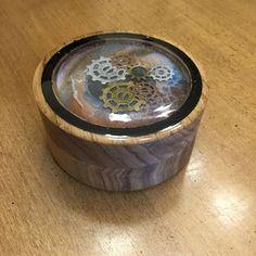 Butternut lidded box