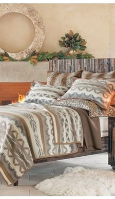 Great Plains Blanket Collection From Pendleton Ranch