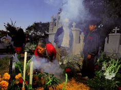 Day of the Dead, Puebla, Mexico    Photograph by Russell Gordon, Aurora Photos    There are better-known Día de los Muertos celebrations in Mexico, but spending the extended holiday (October 31-November 2) in the Puebla state capital puts you in close proximity to the elaborate Day of the Dead ofrendas (offerings) in tiny Huaquechula. Families here spend thousands of dollars erecting towering, multistory altars (typically a cardboard foundation draped in satin) adorned with wax candles, a…