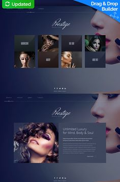 Experience premium Beauty Salon Responsive Moto CMS 3 Template to benefit your online project. Engage new clientele with beauty salon website builder. Website Services, Website Builders, Wordpress Website Builder, Website Color Schemes, Web Design Agency, Custom Website, Social Media Images, Card Templates, Website Template