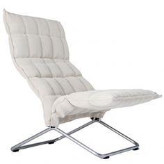K chair, natural-white
