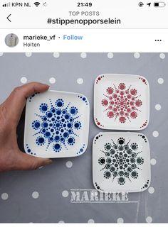 Pontilhismo Mandala Painting, Dot Painting, Ceramic Painting, Mandala Art, Stone Painting, Pottery Painting Designs, Paint Designs, Mandala Pattern, Mandala Design