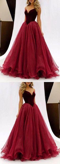 Long Evening Dress, Evening Dress Red, Prom Dresses Long, Prom Dress A-Line, Custom Prom Dress #Prom #Dresses #Long #Dress #ALine #Custom #Evening #Red #LongEveningDress #EveningDressRed #PromDressesLong #PromDressALine #CustomPromDress