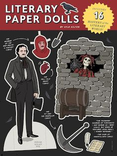 Goth Shopaholic: New Gothic and Horror Paper Dolls for Rainy Autumn Sundays