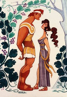 Disney Concept Art - Hercules and Meg
