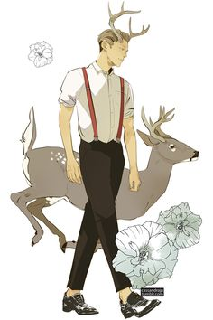 Cassandra Jean - Pretty boy Prancer and his eyelashes beat out Donder in the poll so here he is for today!  Prancer fact: He is a homebody. He barely leaves the house. But he does enjoy gardening.