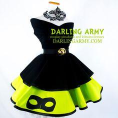 Chat Noir Miraculous Ladybug Cosplay Skirt by DarlingArmy
