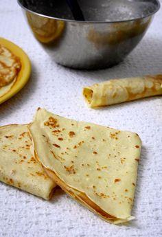 Crepes (ricetta base per crêpes o crespelle)