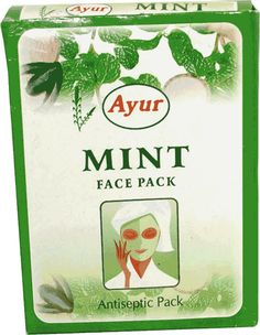 Ayur Face Pack Mint 100gm Buy Online at Best Price in India: BigChemist.com