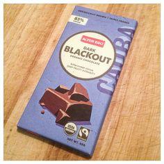 85% #organic #fairtrade chocolate by @alterecosf. So good! #vegan || @ ecovireo on Instagram