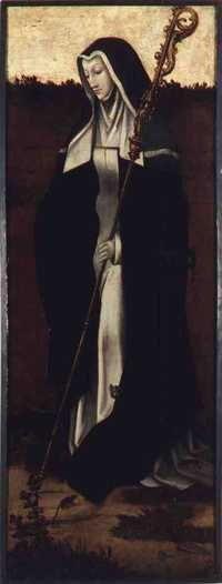 Gertrudis de Nivelles, nació en Landen hacia el 626 y murió el 17 de marzo de 659, fue una erudita, estudiosa, religiosa y santa del territorio franco. En la Edad Media, de tan poco aprecio por el pensamiento de la mujer, llegó a ser una codiciada interprete de la Biblia y sus alegorías en los círculos académicos y religiosos.  Fundadora y primera abadesa de Nivelles (Bélgica), es la santa patrona de la ciudad de Nivelles. Su fiesta litúrgica se celebra el 17 de marzo.