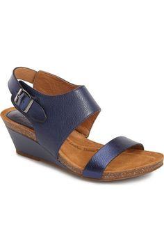 Söfft 'Vanita' Leather Sandal (Women) available at #Nordstrom