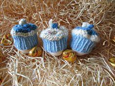 Egg cosy hats Cake egg cozy Breakfast table by IrinasSTRICKMODE