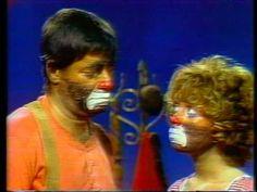1974 Telethon Jerry Lewis & Jill Choder Clowns - YouTube
