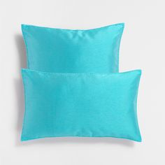 TURQUOISE TEXTURED CUSHION
