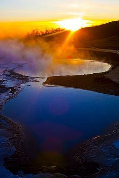 Heitur pottur, Iceland by Ole Kristian Hermansen, via Flickr