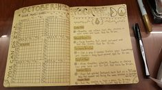 Bullet Journal  : tryingtogrowahuman:   One of my goals this month...