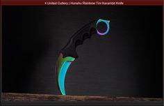 United Cutlery Honshu Rainbow Tini Karambit Knife