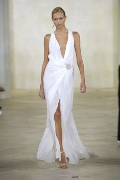 ralph lauren wedding dress summer 2007