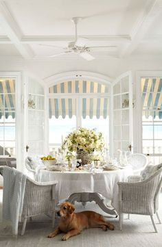 Ralph Lauren Home's Watch Hill Collection captures the charm of a traditional classic American coastal town Photo source: Coastal Cottage, Coastal Homes, Coastal Style, Coastal Living, Coastal Decor, Country Living, Modern Coastal, Southern Homes, Country Decor