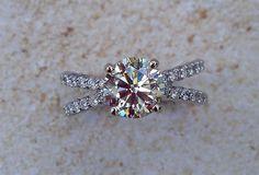 Crossover Engagement Ring - Shapiro Diamonds