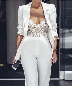 Bodysuit Lingerie, Sexy Lingerie, White Lingerie, Women Lingerie, Bodysuit Fashion, Wedding Lingerie, Honeymoon Lingerie, Elegantes Outfit Frau, Look Fashion