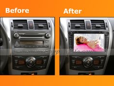 OEM Dual DVD Player Toyota Corolla 2007 2008 2009 2010 2011, autoradio with 8 Inch 800 x 480 High definition TFT LCD Touch Screen, GPS navigation, listen music or watch movie at the same time when GPS working, Car Kit for handsfree calling, RDS, USB Port, SD Slot, iPod Ready, support Steering Wheel Control