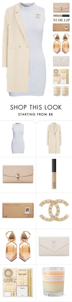 """""""Duchess"""" by igedesubawa ❤ liked on Polyvore featuring beauty, Glamorous, Harris Wharf London, Dolce&Gabbana, NARS Cosmetics, Amelia Rose, Chanel, Christian Louboutin, Yves Saint Laurent and A.P.C."""