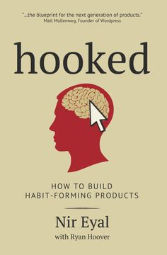 "Nicole picked up ""Hooked: How to Build Habit-Forming Products"" by Nir Eyal, Ryan Hoover"