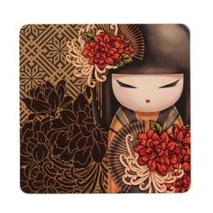 "RP: Kimmidoll Coasters: Tatsuyo ""Strong Hearted""   ebay.co.uk"