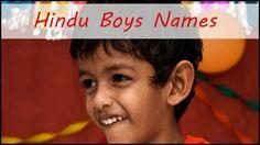Hindu names for boys