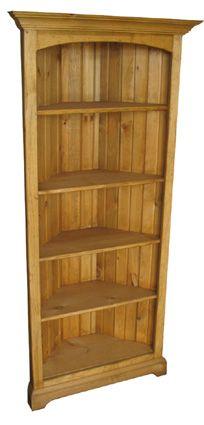 Bookshelves, Bookcase, Real Wood, Wood Crafts, Corner, Home Decor, Bookcases, Decoration Home, Room Decor