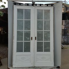 Beveled glass pocket doors | Ohmega Salvage