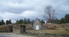 Spookiest cemeteries in the US @FoxNews @GotoTravelGal Bethel, Maine, Woodland Cemetery
