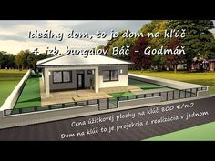 Vaše vysnívané bývanie Váš nový domov: Projekt 2 - 4 izb. bungalov - YouTube Home Fashion, Mansions, House Styles, Youtube, Home Decor, Mansion Houses, Homemade Home Decor, Villas, Fancy Houses