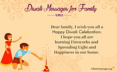 Wish u and your family a very happy diwali | Send beautiful wishes and text messages to your family on this Diwali Festival