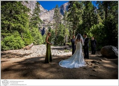 ♥♥Weddings can take place on top of summits, at the base of waterfalls, in the Ahwahnee Hotel, in meadows and just about anywhere you want in Yosemite National Park-♥♥1986♥♥