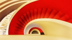 Stairwell at the Philip Morris Offices in Istanbul, Turkey by Mimari Studio