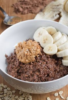 This Chocolate Peanut Butter Oatmeal is next level.