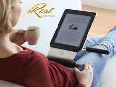 The iRest from Rain Design - 2011 Macworld Best of Show Winner - Get more joy out of your iPad. Compatible with all iPads.