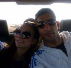 Faryal M Khan & Amir Khan Faryal Makhdoom Khan, Beautiful Couple, Boxer, Hair Beauty, Shades, Couples, Clothes, Outfits, Clothing