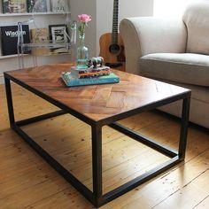 Image of EXCLUSIVE Handmade Parquet floor coffee table