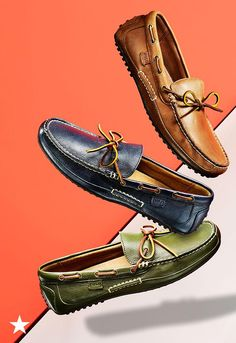 Need everyday shoes for the warmer weather? These Polo Ralph Lauren loafers will be your new go-to this season. Pair with your favorite slim-fit chinos during the week, or with cargo shorts for a casual weekend look. Available now at Macy's!