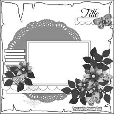 Scrap That! Kit July Sketch - Scrapbook.com