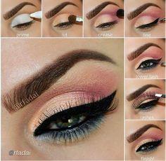 Maquillaje de ojos paso a paso. Así es más sencillo