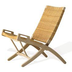 The beautiful PP512 Folding Chair by Danish designer Hans Wegner (1914-2007) for Danish manufacturer PP Mobler.