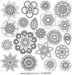 Mandala Flower Tattoo Designs