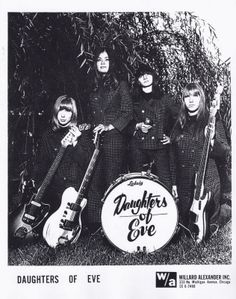 """Daughters of Eve (Chicago, Illinois) """"Don't Waste My Time/He Cried"""" 1967"""